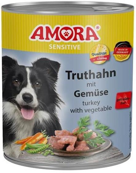 Amora Dog Sensitive Adult Truthahn mit Gemüse 400 g oder 800 g