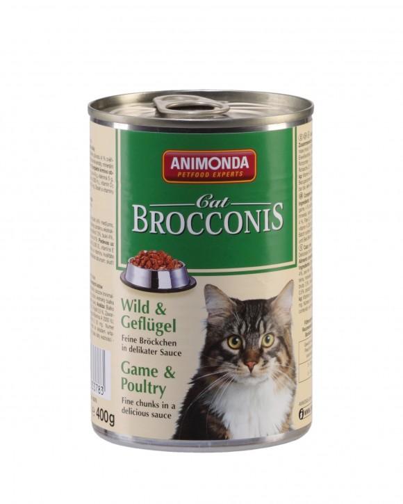 Animonda Cat Brocconis Wild und Geflügel 400 g