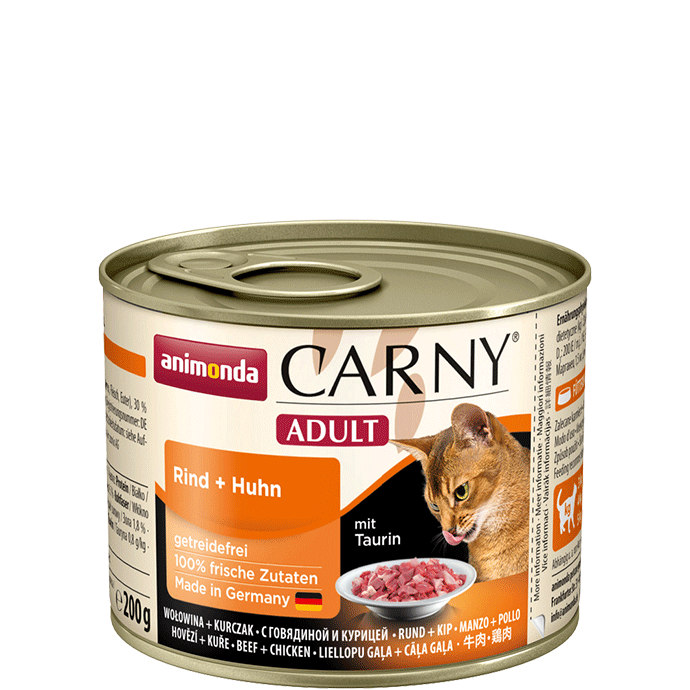 Animonda Cat Carny Adult Rind & Huhn 200 g