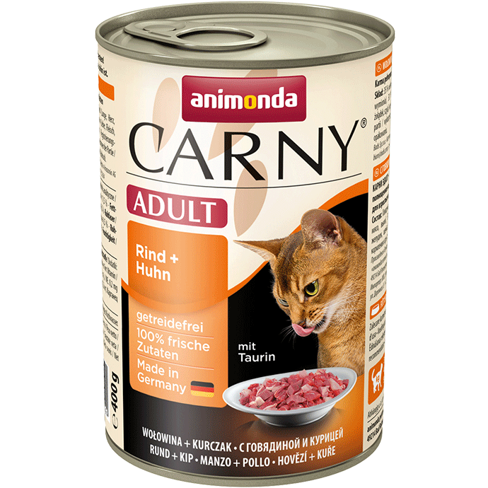 Animonda Cat Carny Adult Rind & Huhn 6 x 400 g