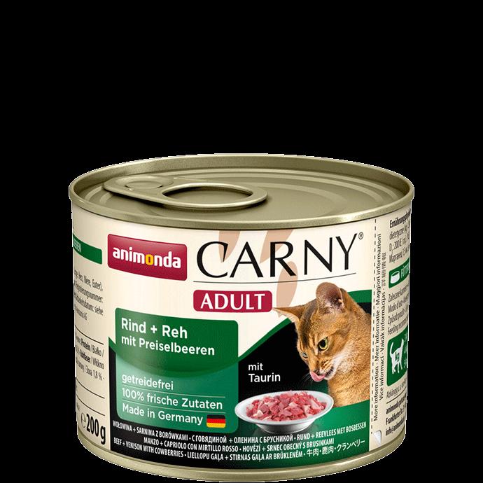 Animonda Cat Carny Adult Rind & Reh mit Preiselbeeren 200 g