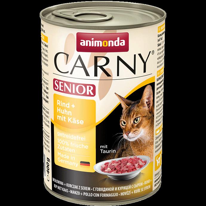 Animonda Cat Carny Senior Rind & Huhn mit Käse 400 g