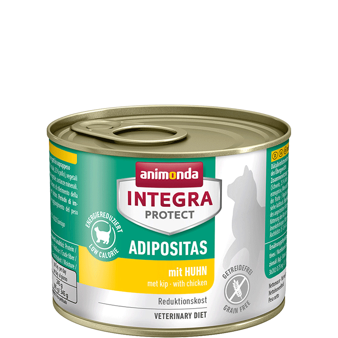 Animonda Cat Integra Protect Adipositas Adult mit Huhn 12 x 200 g