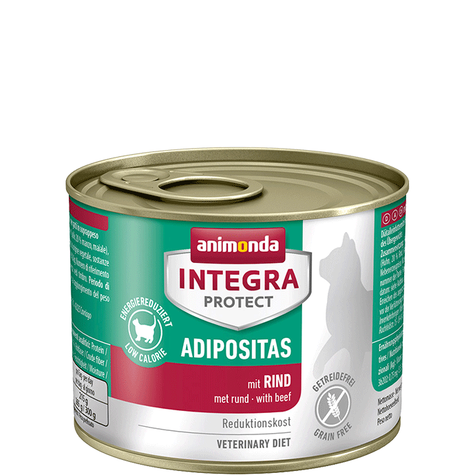 Animonda Cat Integra Protect Adipositas Adult mit Rind 12 x 200 g