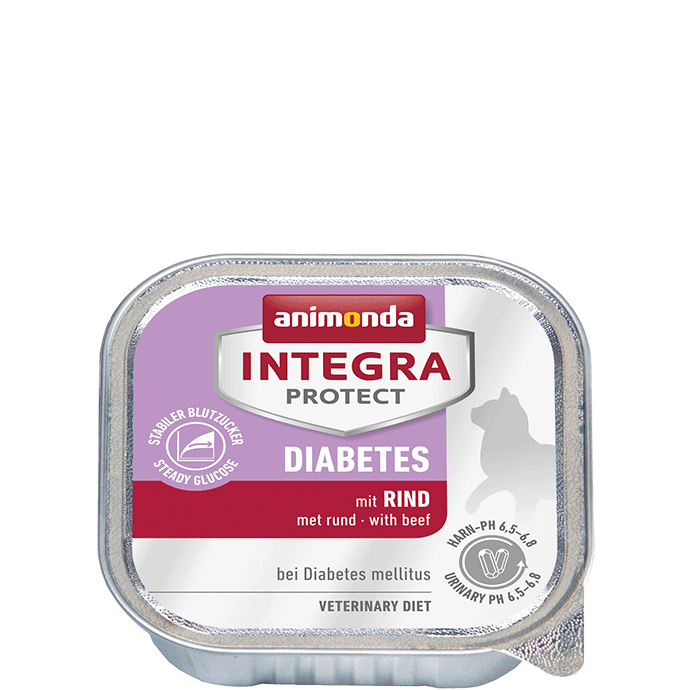Animonda Cat Integra Protect Diabetes Adult mit Rind 16 x 100 g