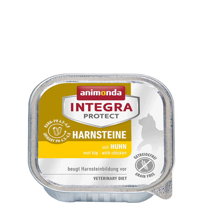Animonda Cat Integra Protect Harnsteine Adult mit Huhn 16 x 100 g