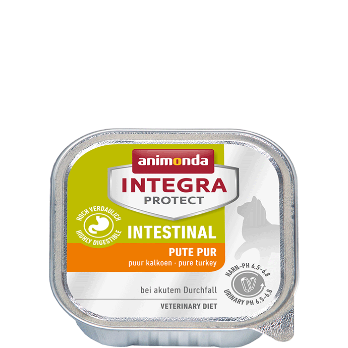 Animonda Cat Integra Protect Intestinal Adult Pute pur 16 x 100 g