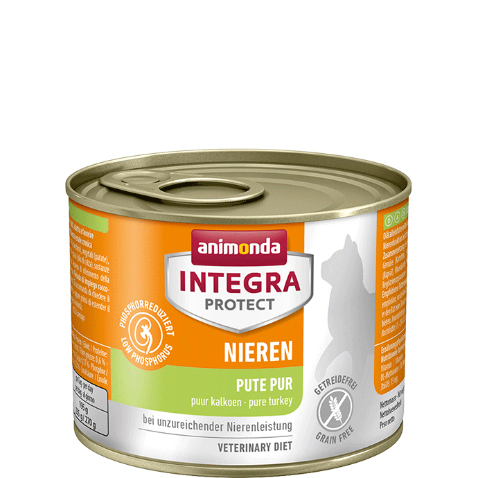 Animonda Cat Integra Protect Nieren Adult Pute pur 200 g