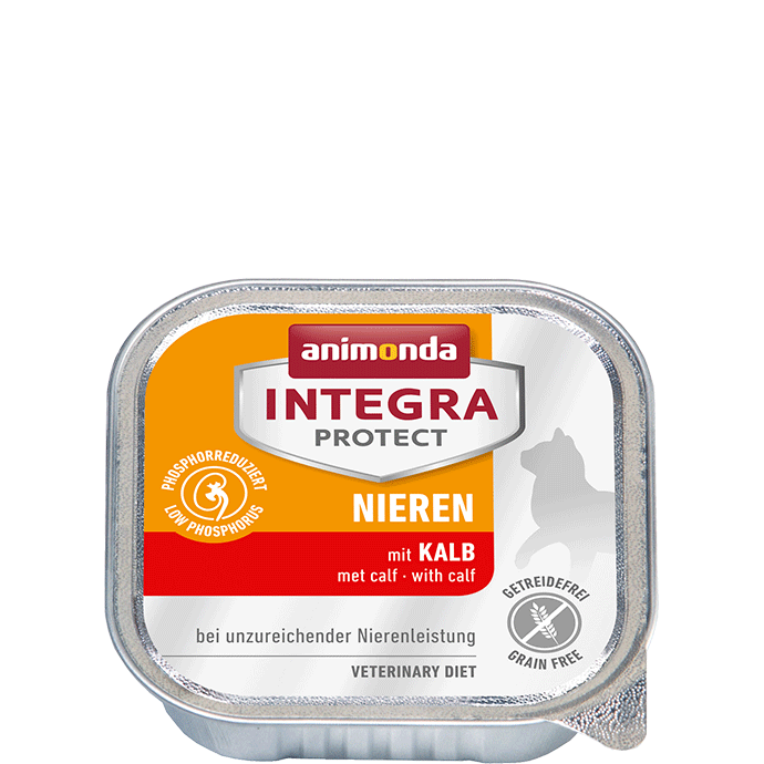 Animonda Cat Integra Protect Nieren Adult mit Kalb 16 x 100 g
