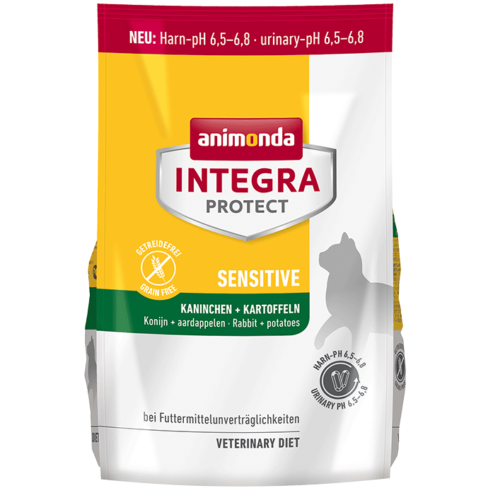 Animonda Cat Integra Protect Sensitive Adult Kaninchen & Kartoffeln 1,2 kg (SPARTIPP: unsere Staffelpreise)