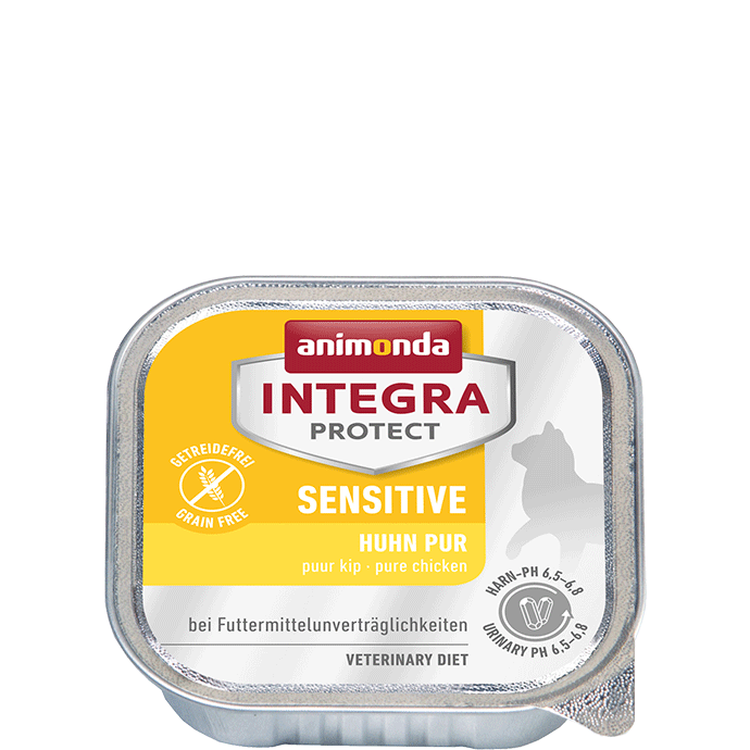 Animonda Cat Integra Protect Sensitive Adult Huhn pur 100 g