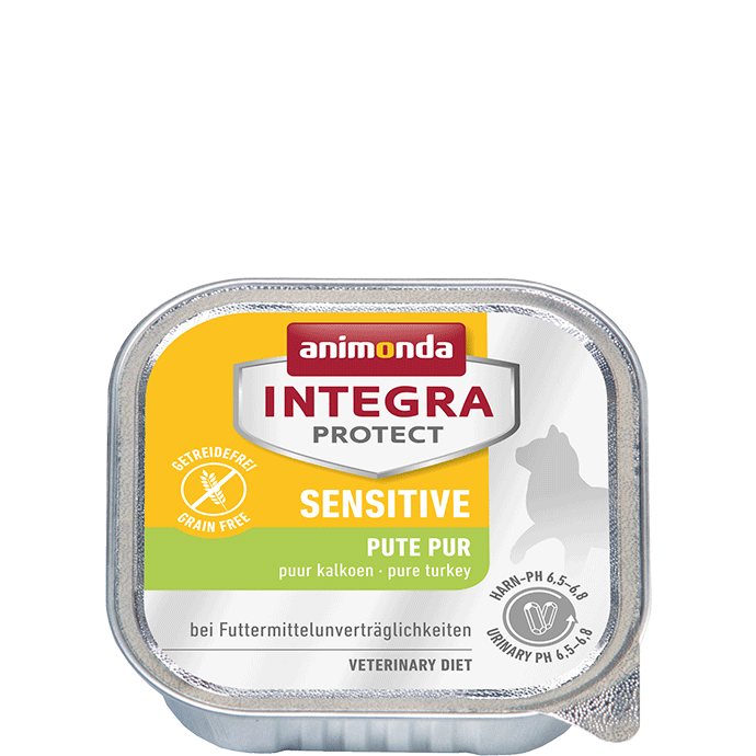 Animonda Cat Integra Protect Sensitive Adult Pute pur 16 x 100 g
