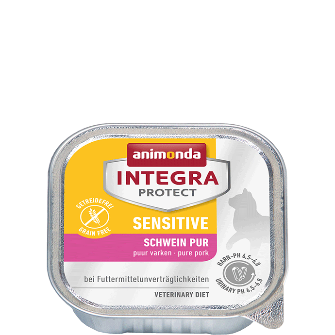 Animonda Cat Integra Protect Sensitive Adult Schwein pur 16 x 100 g