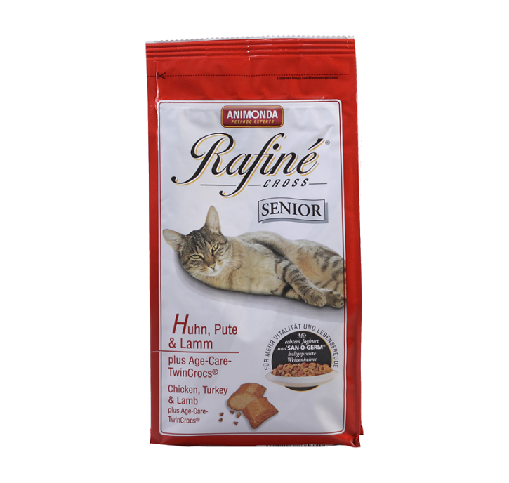 Animonda Cat Rafiné Cross Senior mit Huhn, Pute und Lamm 1,5 kg