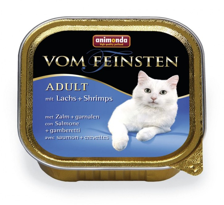Animonda Cat Vom Feinsten Adult Lachs und Shrimps 32 x 100 g