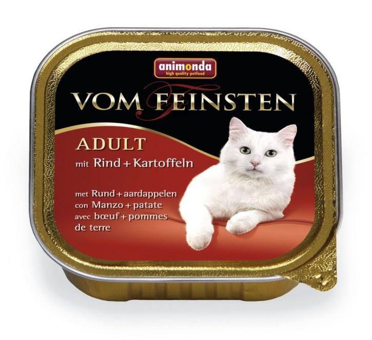 Animonda Cat Vom Feinsten Adult Rind und Kartoffeln 100 g