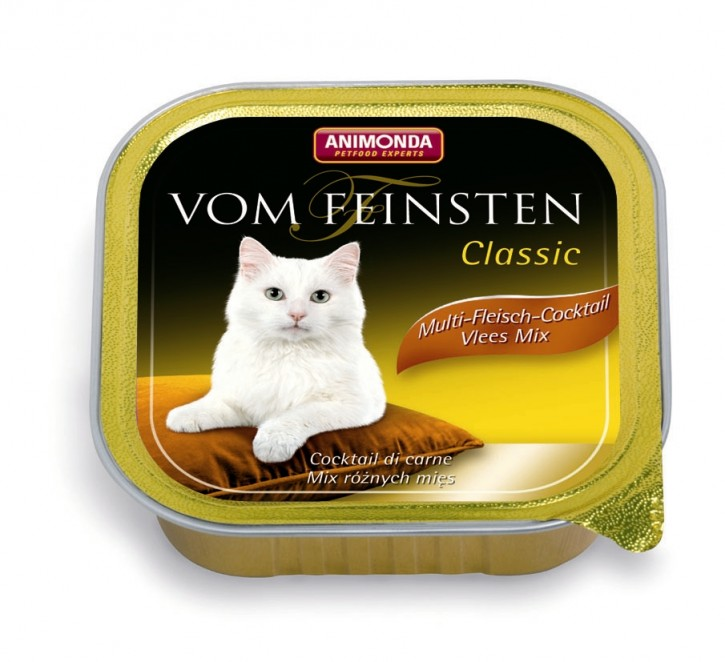 Animonda Cat Vom Feinsten Adult mit Multi Fleischcocktail 32 x 100 g