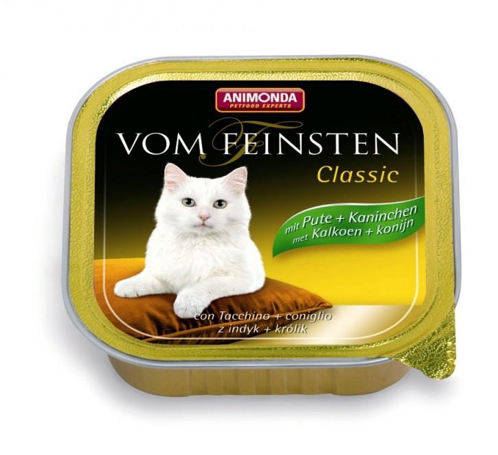 Animonda Cat Vom Feinsten Adult Pute und Kaninchen 100 g