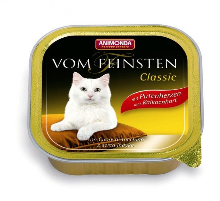 Animonda Cat Vom Feinsten Adult mit Putenherzen 100 g