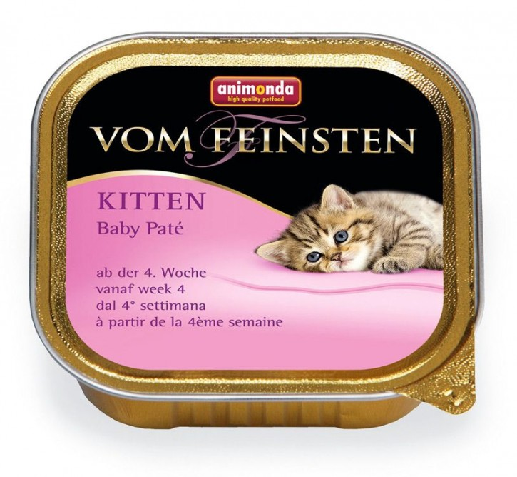 Animonda Cat Vom Feinsten Kitten Baby Paté 100 g