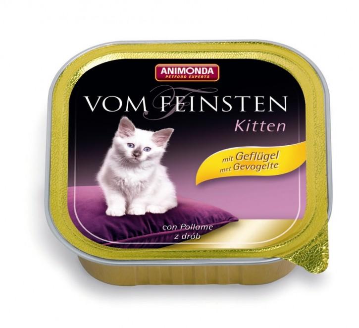 Animonda Cat Vom Feinsten Kitten mit Geflügel 100 g