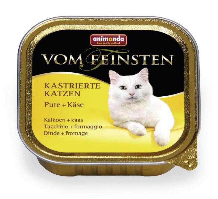 Animonda Cat Vom Feinsten für kastrierte Katzen Pute und Käse 100 g