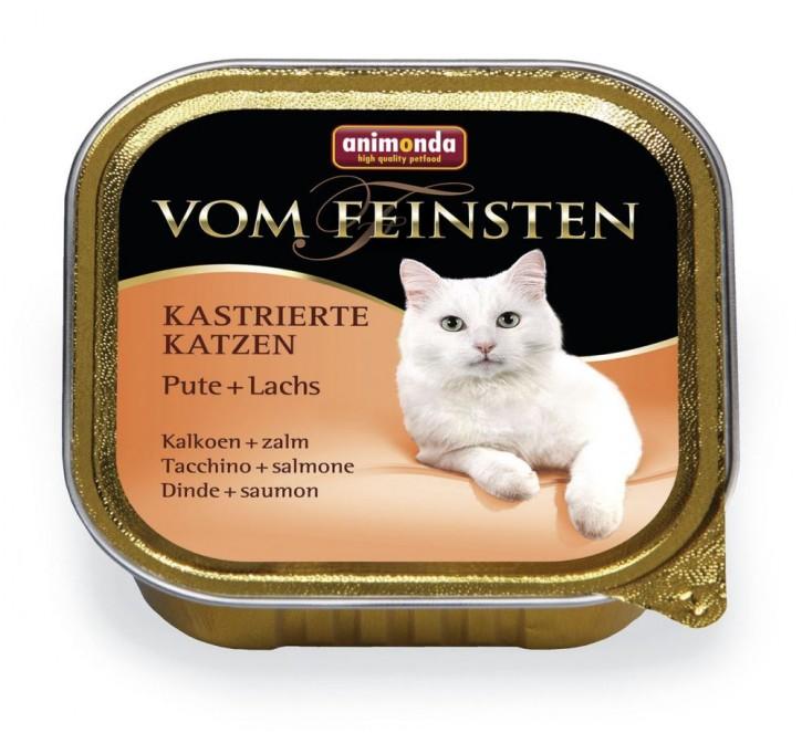 Animonda Cat Vom Feinsten für kastrierte Katzen Pute und Lachs 100 g