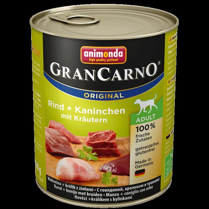 Animonda Dog Gran Carno Original Adult Kaninchen und Kräuter 800 g