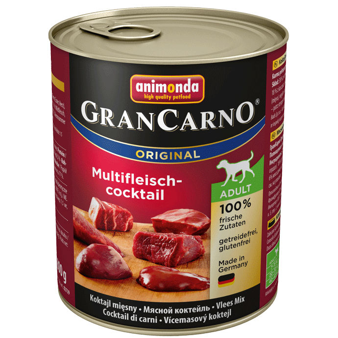 Animonda Dog Gran Carno Original Adult Multifleisch Cocktail 800 g