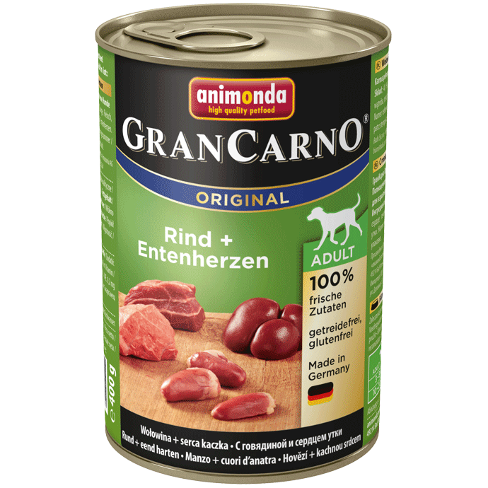 Animonda Dog Gran Carno Original Adult Pute und Ente 400 g