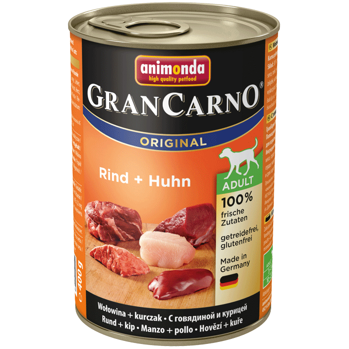 Animonda Dog Gran Carno Original Adult Rind und Huhn 400 g