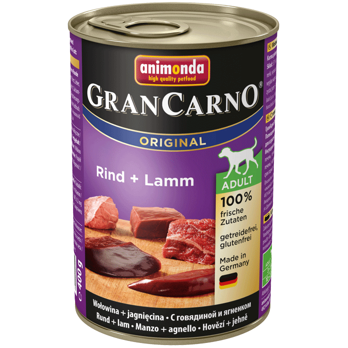 Animonda Dog Gran Carno Original Adult Rind und Lamm 400 g