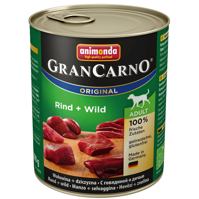 Animonda Dog Gran Carno Original Adult Rind und Wild 6 x 800 g