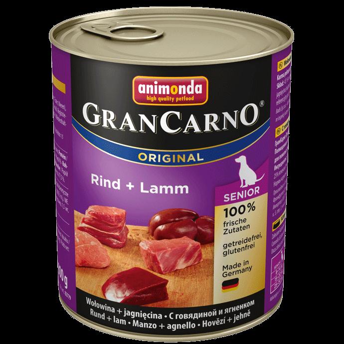 Animonda Dog Gran Carno Original Senior Rind und Lamm 6 x 800 g