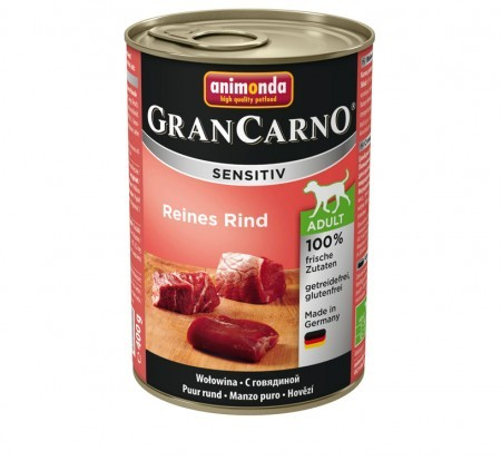 Animonda Dog Gran Carno Sensitiv Adult Reines Rind 400 g