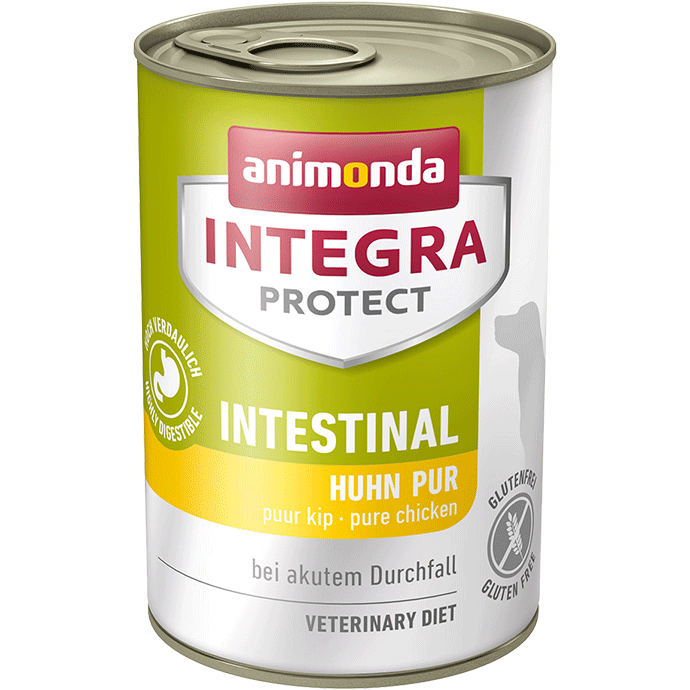 Animonda Dog Integra Protect Intestinal Adult Huhn pur 6 x 400 g