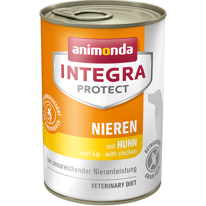 Animonda Dog Integra Protect Nieren Adult mit Huhn 6 x 400 g