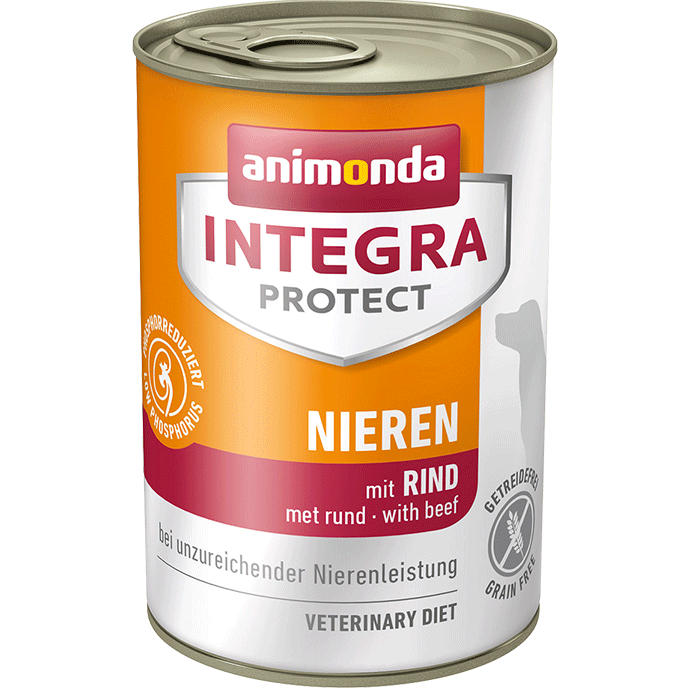 Animonda Dog Integra Protect Nieren Adult mit Rind 400 g