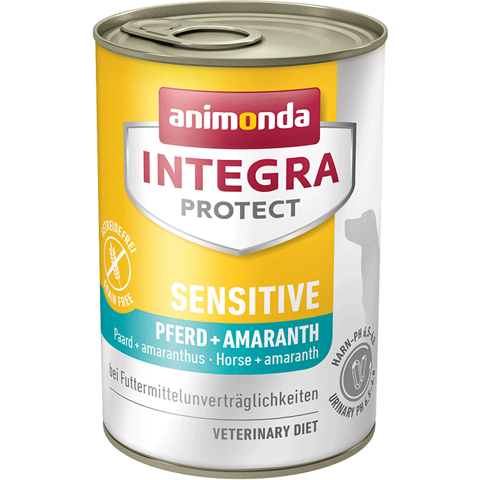 Animonda Dog Integra Protect Sensitive Adult Pferd & Amaranth 6 x 400 g