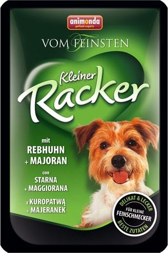 Animonda Dog Vom Feinsten Kleiner Racker mit Rebhuhn und Majoran 16 x 85 g