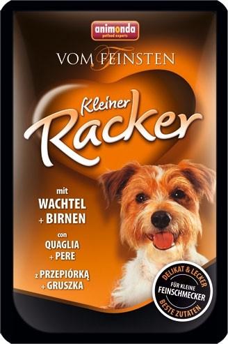 Animonda Dog Vom Feinsten Kleiner Racker mit Wachteln und Birnen 16 x 85 g