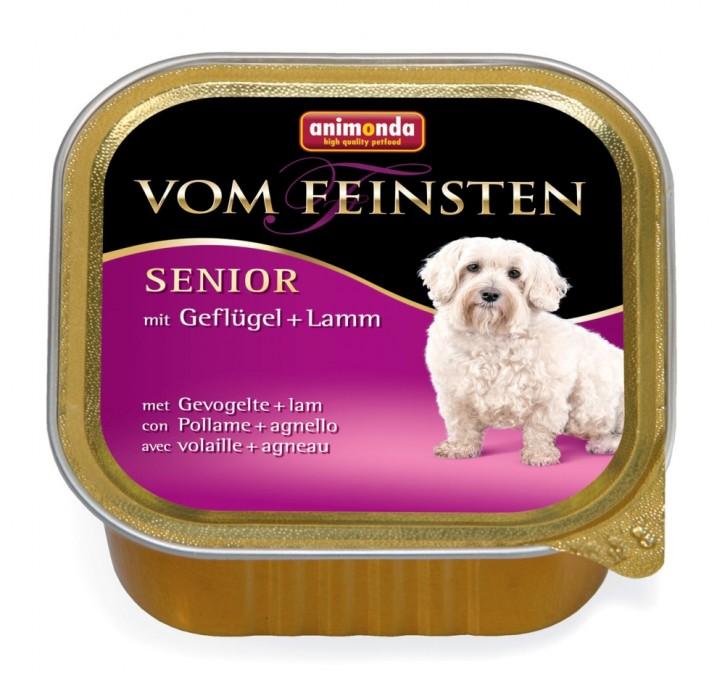 Animonda Dog vom Feinsten Senior Geflügel und Lamm 150 g