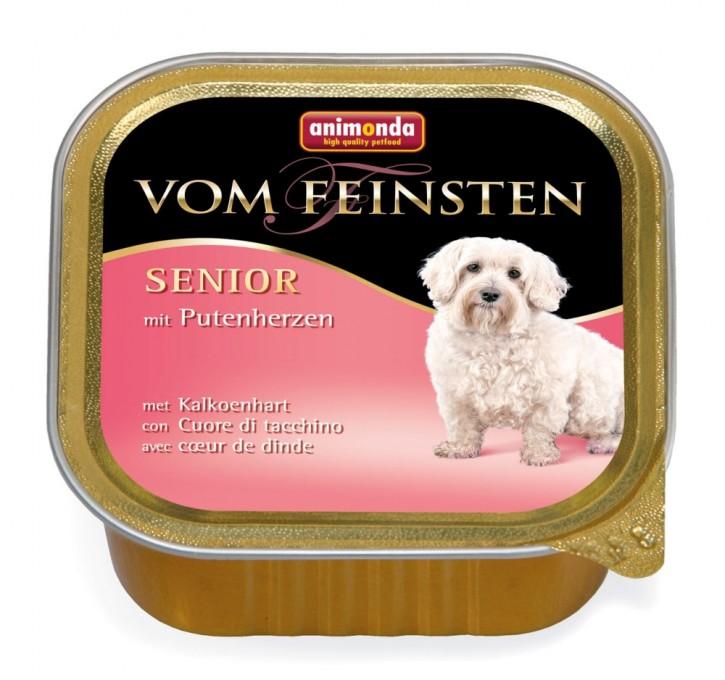 Animonda Dog Vom Feinsten Senior mit Putenherzen 150 g