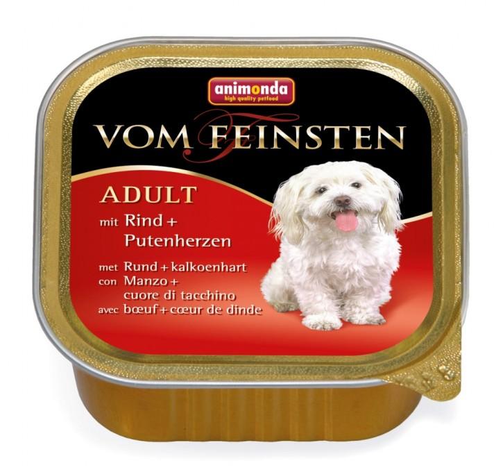 Animonda Dog vom Feinsten Adult Rind und Putenherz 150 g