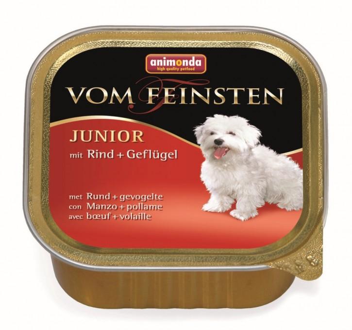 Animonda Dog vom Feinsten Junior Rind und Geflügel 150 g