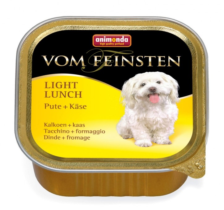 Animonda Dog vom Feinsten Light Lunch Pute und Käse 150 g