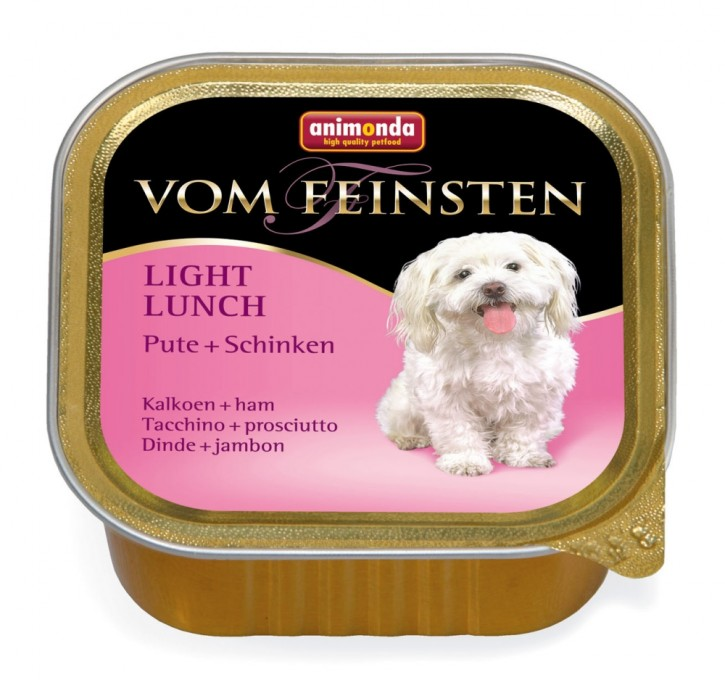 Animonda Dog vom Feinsten Light Lunch Pute und Schinken 150 g
