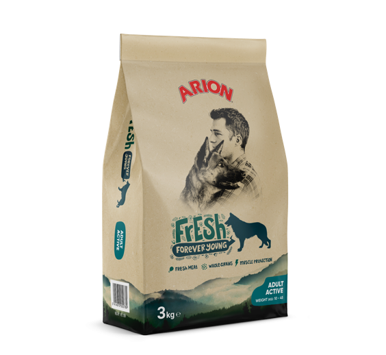 Arion Fresh Adult Active 3 kg oder 12 kg (SPARTIPP: unsere Staffelpreise)