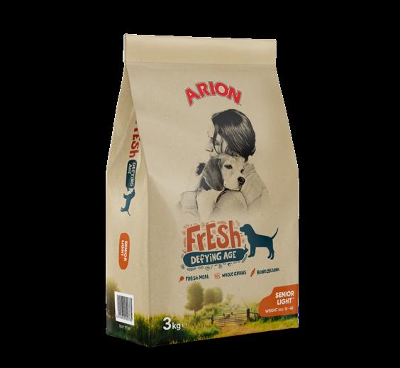 Arion Fresh Adult Senior Light 3 kg oder 12 kg (SPARTIPP: unsere Staffelpreise)