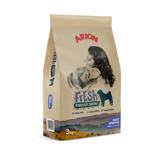 Arion Fresh Adult Sensitive 3 kg oder 12 kg (SPARTIPP: unsere Staffelpreise)